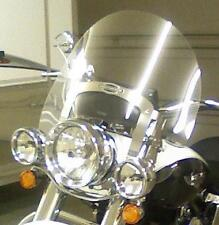 "HD FLSTN/FLSTNI SOFTAIL DLX DETACHABLE 2005-UP 17""x23"" L.GRAY REPLACEMENT SHIELD"