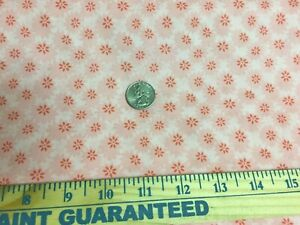 """Penny Rose Floral Lawn Fabric 100% Cotton Smocking Pink  54"""" Wide"""