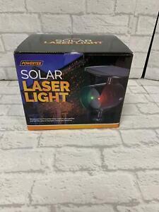 Powertek Solar Laser Christmas Light Brand New