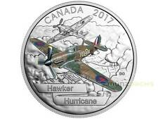 20 $ Dollar Aircraft Second World War Hawker Hurricane Kanada 1 oz Silber 2017