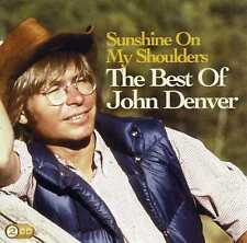 JOHN DENVER - SUNSHINE ON MY SHOULDERS : THE BEST OF - 2 CDS - NEW!!