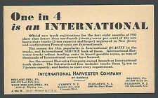 Ca 1934 Pc International Harvester Co Of America Heavy Duty 2 Ton+ See Info