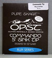 OPST Commando Tip 5ft Micro Skagit MONOCOMANDO #2 - #6 sinktip 1,5 MTR. Run s4