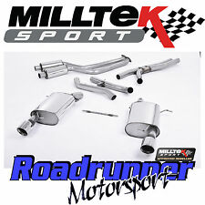 Milltek BMW 335i E92 Coupe 2WD Exhaust Full System Inc Secondary Decats SSXBM014