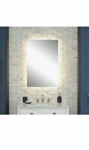 Scott Living Canterbury 24 Inch Rectangular Lighted LED Mirror