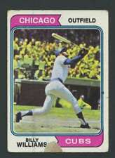 1974 Topps #110 Billy Williams POOR Cubs 28674