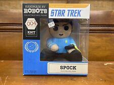 Handmade By Robots Star Trek Spock Collectible Vinyl Figure Knit Series