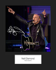NEIL DIAMOND #2 10x8 SIGNED Mounted Photo Print - FREE DELIVERY