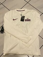 Nike Fsu Florida State Seminoles Performance Full Zip Jacket Mens M New