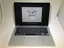 MacBook Pro 13 Retina Late 2012 MD212LL/A 2.5GHz i5 8GB 128GB READ AS IS
