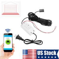 Garage Door Wireless Smart Controller Switch Smart WiFi Remote Compatible Opener