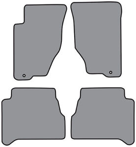 Cutpile Carpet Floor Mat 4pc Fits 2003-2009 Kia Sorento