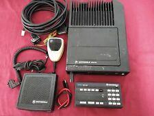 MOTOROLA ASTRO SPECTRA VHF P25 DIGITAL TRUNKING MOBILE RADIO 110w COMPLETE