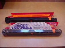 Victor Auto Emergency Warning Triangle, Lot of 2