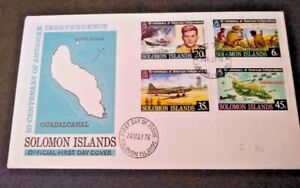 Solomon Islands 1976 American Bi-centenary First Day Cover