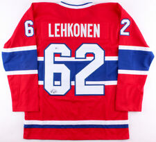 Artturi Lehkonen Signed Montreal Canadiens Jersey (Beckett Coa) Left Winger