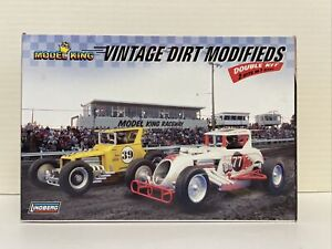 Model King VINTAGE DIRT MODIFIEDS Model Car Kit 2 in 1 #603031 Made in U.S.A.