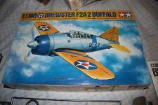 TAMIYA U.S.NAVY BREWSTER F2A-2 BUFFALO 1/48