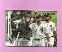 2020 Topps 582 Montgomery Club Foil Stamp #663 Chicago White Sox Team Card