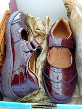 The Art Company Kids Girls Charol Rioja Shoes, BNIB, size 13, maroon patent
