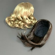 """2x American Girl Tryly Me Brown Blonde Wig For 18"""" Doll Hair Replacement Toy"""