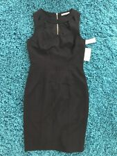 Womens Ladies Elize J Black Cut Out Dresses Size 6 New With Tag