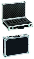 ROADINGER Mikrofon-Case Road 7 Mikrofone  Transportkoffer für Mikrofone