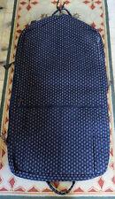 Vera Bradley Navy Blue Burgundy paisley Garment Bag Luggage Never Used