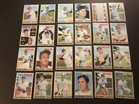 1970 Topps CHICAGO WHITE SOX Team 24 Cards LUIS APARICIO Wilber WOOD Bill MELTON