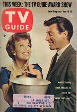 1961 TV Guide June 10 - Naked City Part II; Sharon Hugueny; TV Guide Awards;Hush