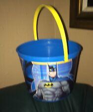 Adam West Batman Plastic Trick-Or-Treat Bucket Or Beach Pail Made In USA