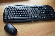 Teclado y ratón Logitech Wireless MK 250
