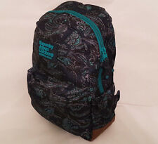 SUPERDRY 2018 Montana Leaf Paisley Navy Backpack LAPTOP Work Rucksack SALE!