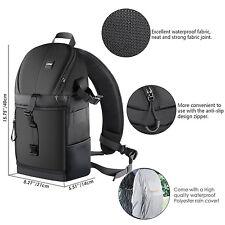 Neewer Bolsa de cámara almacenamiento resistente al agua mochila maletín,negro