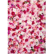 3x5FT Vinyl Rose Flowers Photography Backdrop Photo Studio Wedding Backgrou C5G6