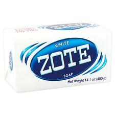 White Zote Laundry Soap 14.1 Oz (1 Bar) Detergent Jabón Wash Clothes