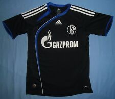 Schalke 04 / 2009-2010 Third - ADIDAS - JUNIOR Shirt / Jersey. Size: 164cm 13-14
