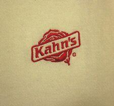 KAHN'S Meats longsleeves XL Cincinnati lunchmeat sweatshirt OHIO embroidery logo