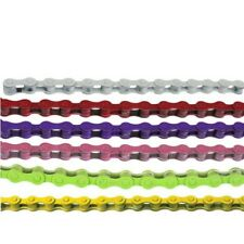 NEW KMC Single Speed Colored Bicycle Chain, Fixie, Frewheel, BMX, Cruiser