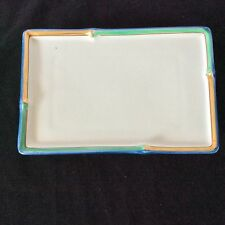 "Porcelain Jewelry Vanity Tray 1 Sold Indiv 2 Avail 8.5""X5.5"" Elegant Vtg Japan"