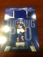 2018 Playoff Turning Pro Rookie Jersey Non Auto Saquon Barkley RC GIANTS  WOW