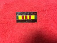 VIETNAM VETERAN US ARMY VIETNAM SERVICE RIBBON PIN
