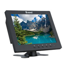 "Portable 8"" IPS HD Monitor Video Audio HDMI VGA BNC For FPV PC CCTV DVR Banking"