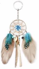 Feather Handbag Keychain Charm Pendant Bag Purse Car key Ring Boho Dream Catcher