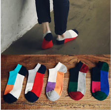 5 pairs mix color Men's Women Casual socks four seasons Cotton socks ankle socks