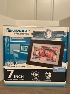 Panimage 7 Inch Digital Photo Frame (NEW in BOX) 512 MB Internal Memory