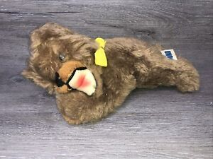 """1976 vintage gund Brown puppy dog plush 10"""" Tall"""