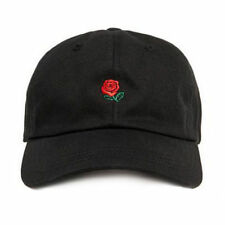 New The Hundreds Dad Hat Flower Rose Embroidered Snapback Baseball Cap Visor Hat