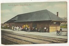 NYC Depot New York Central Railroad Station JERSEY SHORE PA Postcard