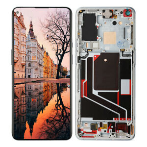"""For OnePlus 9 Pro 5G 6.7"""" LCD Display Touch Screen Digitizer Replacement Silver"""